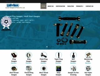 zawargauges.com screenshot