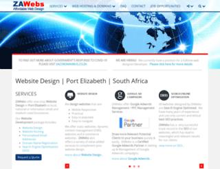 zawebs.com screenshot
