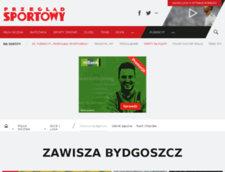 zawisza.przegladsportowy.pl screenshot