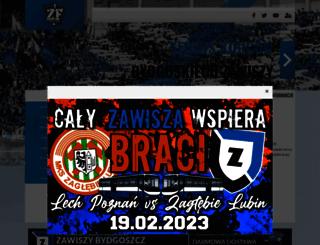 zawiszafans.net screenshot