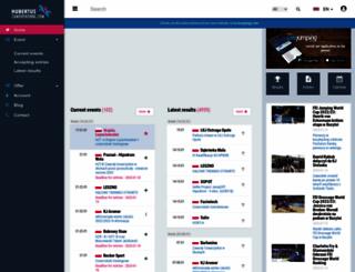 zawodykonne.com screenshot