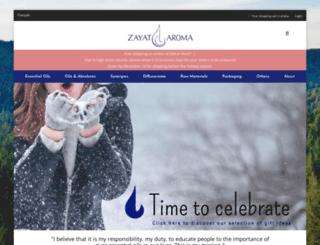 zayataroma.com screenshot
