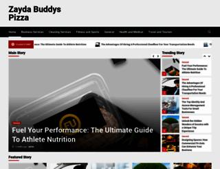 zaydabuddyspizza.com screenshot