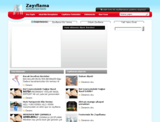 zayiflamam.com screenshot
