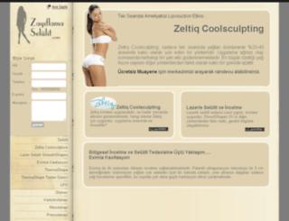 zayiflamaselulit.com screenshot
