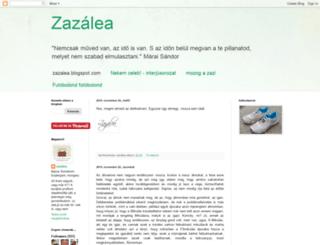 zazalea.blogspot.com screenshot