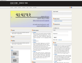 zazi.com screenshot