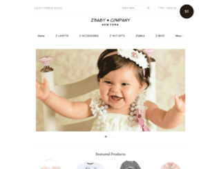 zbabycompany.myshopify.com screenshot