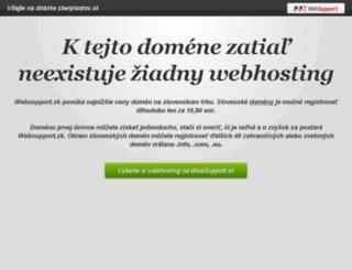 zberplastov.sk screenshot