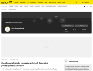 zbigniewstefanik.salon24.pl screenshot