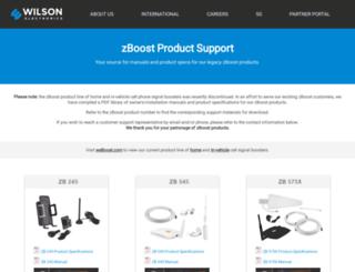zboost.com screenshot