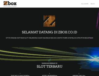 zbox.co.id screenshot
