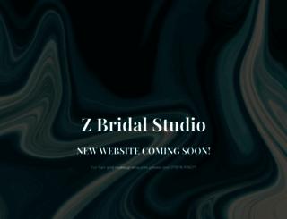 zbridalstudio.co.uk screenshot