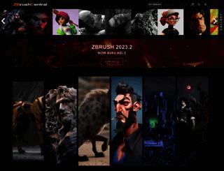 zbrushcentral.com screenshot
