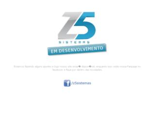 zcinco.com.br screenshot