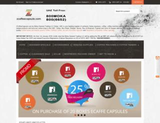 zcoffeecapsule.com screenshot