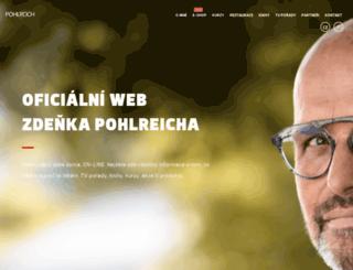 zdenekpohlreich.cz screenshot