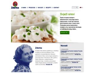 zdenka.hr screenshot