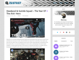 zdistrict.com screenshot
