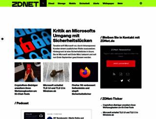 zdnet.de screenshot