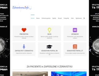 zdravstvena.info screenshot