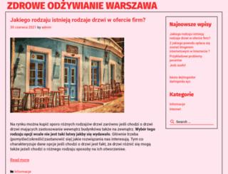 zdrowe-odzywianie.waw.pl screenshot