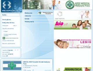 zdrowie.wlkp.pl screenshot