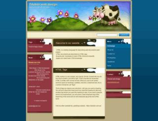 zdubair-web-design.webnode.se screenshot