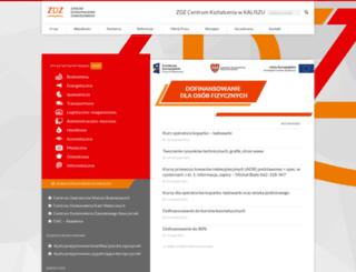 zdz.kalisz.pl screenshot