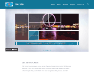 zeal360.com screenshot
