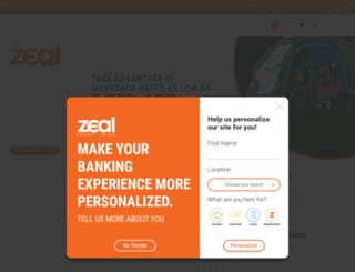 zealcreditunionhb.org screenshot