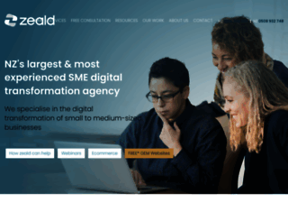 zeald.com screenshot
