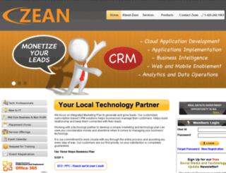 zeantech.com screenshot