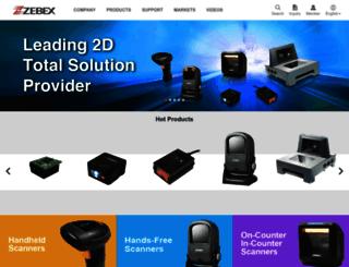 zebex.com.tw screenshot