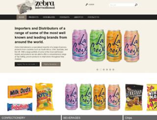 zebrainternational.co.nz screenshot