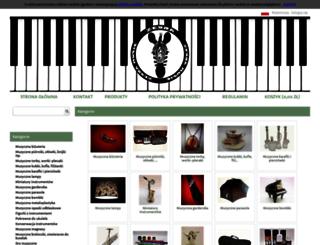 zebramusic.pl screenshot