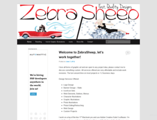 zebrasheep.wordpress.com screenshot