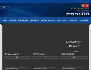 zechsservicecenter.com screenshot