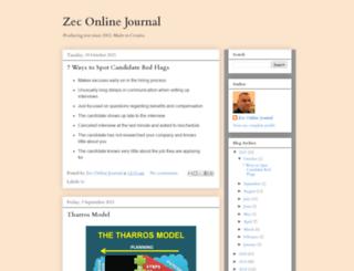 zecina.blogspot.de screenshot