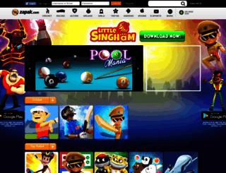zedearth.zapak.com screenshot