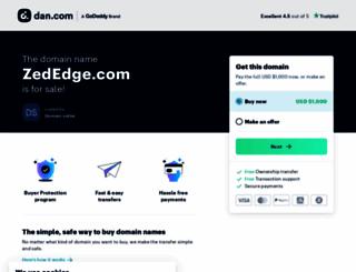 zededge.com screenshot