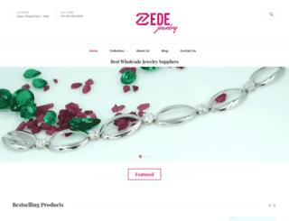zedejewelry.com screenshot