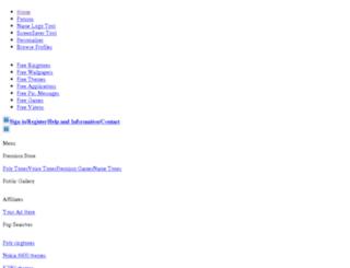 zedge.ubik.net screenshot