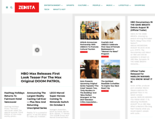 zedista.com screenshot