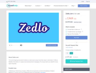 zedlo.com screenshot