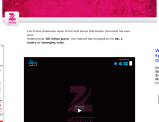zeeanmol.tv screenshot