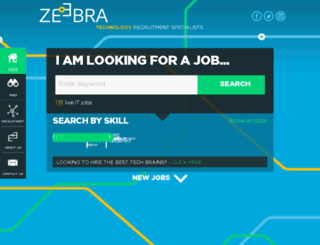 zeebra.cz screenshot