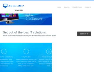 zeecomp.com screenshot