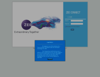 zeeconnect.in screenshot