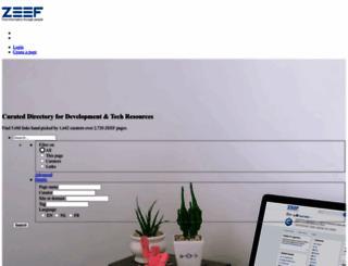 zeef.com screenshot
